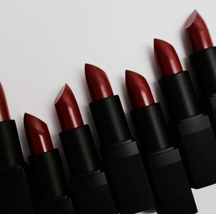 Deep Red Lipstick