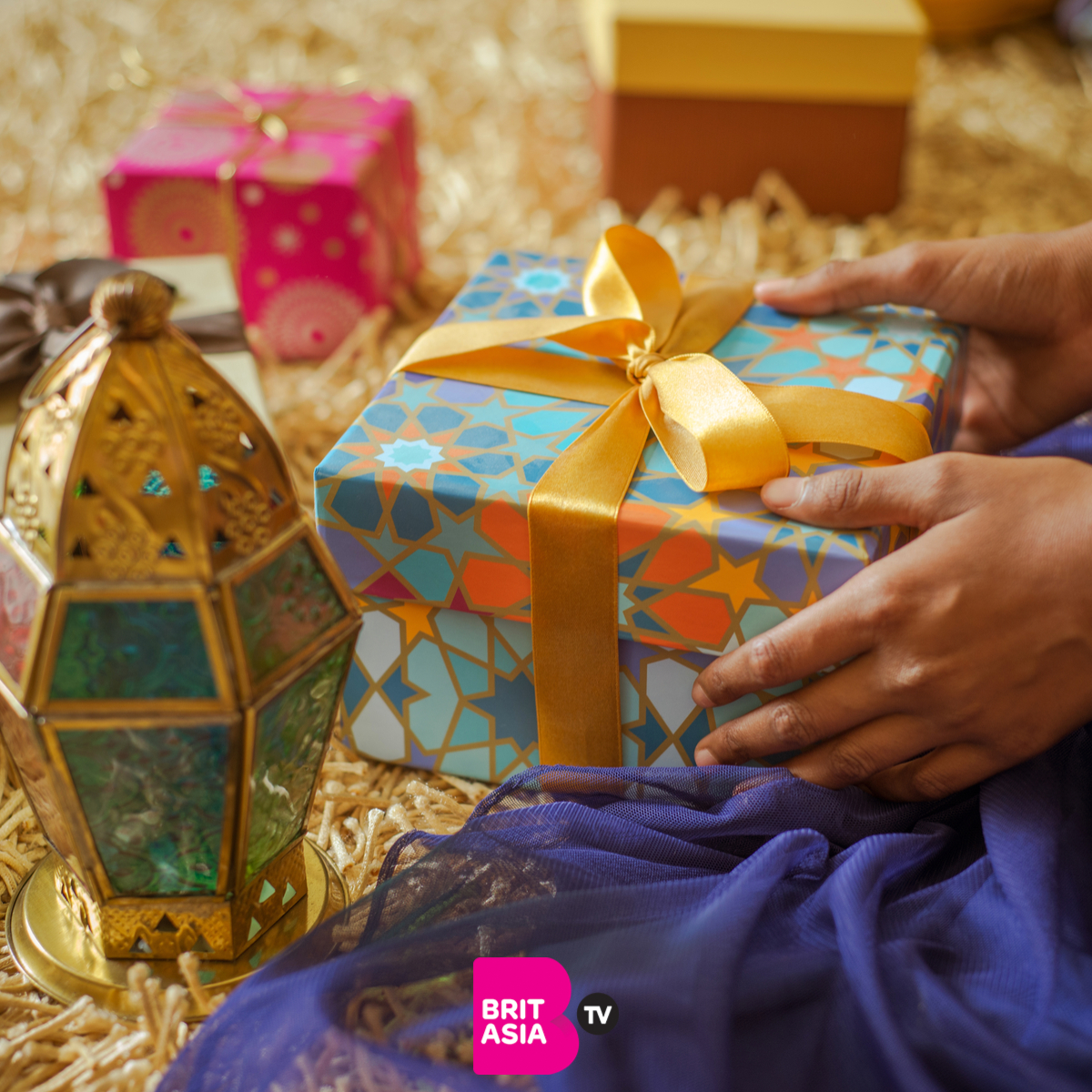 Eid- exchanging gifts