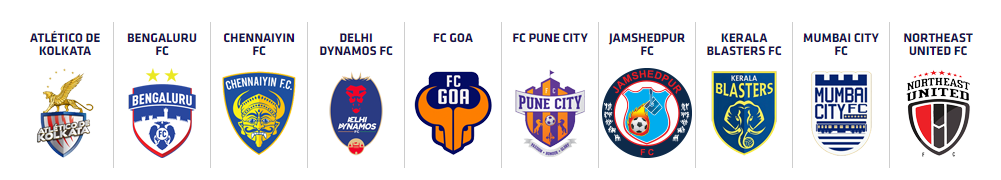 Indian Super League teams