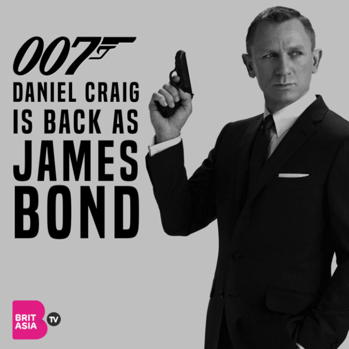 Daniel Craig is back as James Bond