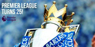 Premier League turns 25