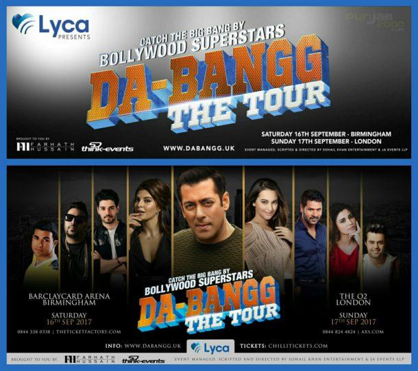 Da-Bangg UK Tour