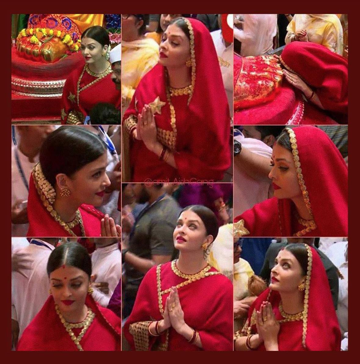 Aishwarya Rai 'The Sabyasachi Red'