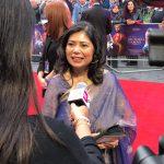 BritAsia TV speaks to Shrabani Basu at the red carpet premiere of 'Victoria & Abdul'