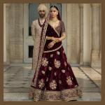 Deepika Padkone wearas 'The Sabyasachi Red'