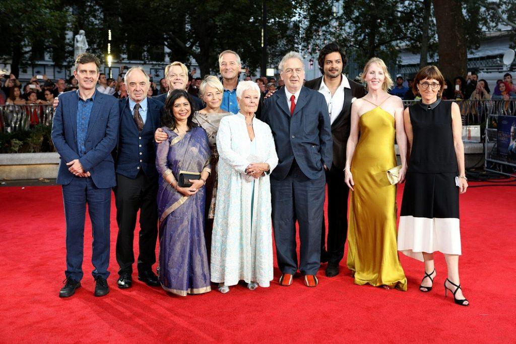 Cast of Victoria and Abdul at the London premiere of 'Victoria & Abdul'