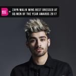 Zayn Malik wins best dressed at GQ Men of the year Awards