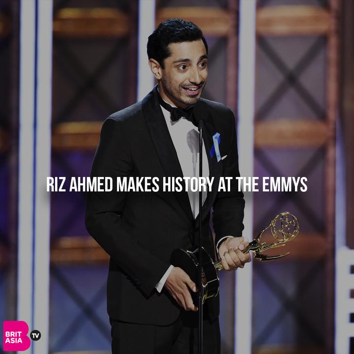 RIZ AHMED MAKES HISTORY AT THE EMMYS