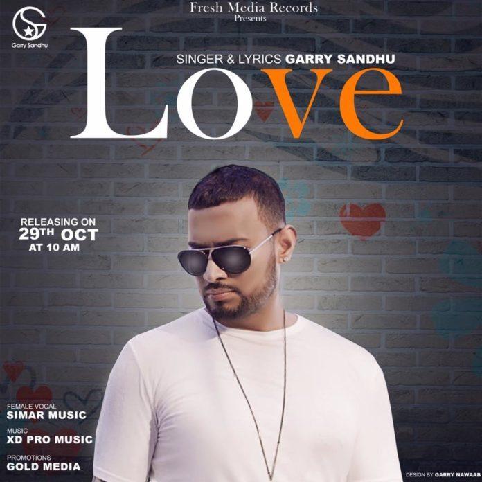 NEW RELEASE: GARRY SANDU – LOVE