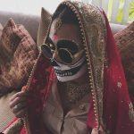 Bollywood bridal skeleton look