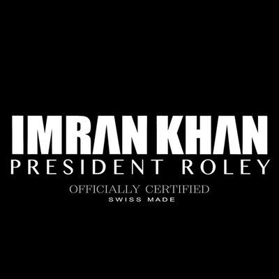 NEW RELEASE: IMRAN KHAN – PRESIDENT ROLEY