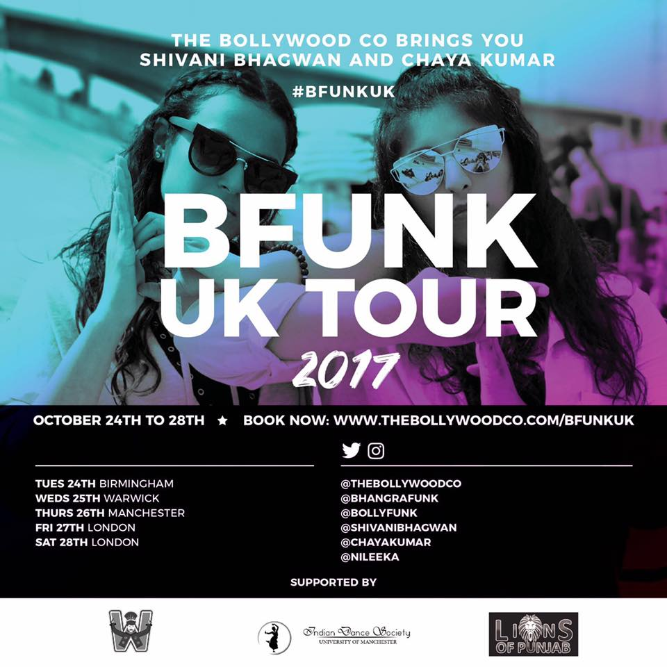 BHANGRA FUNK ARRIVES BACK IN THE UK