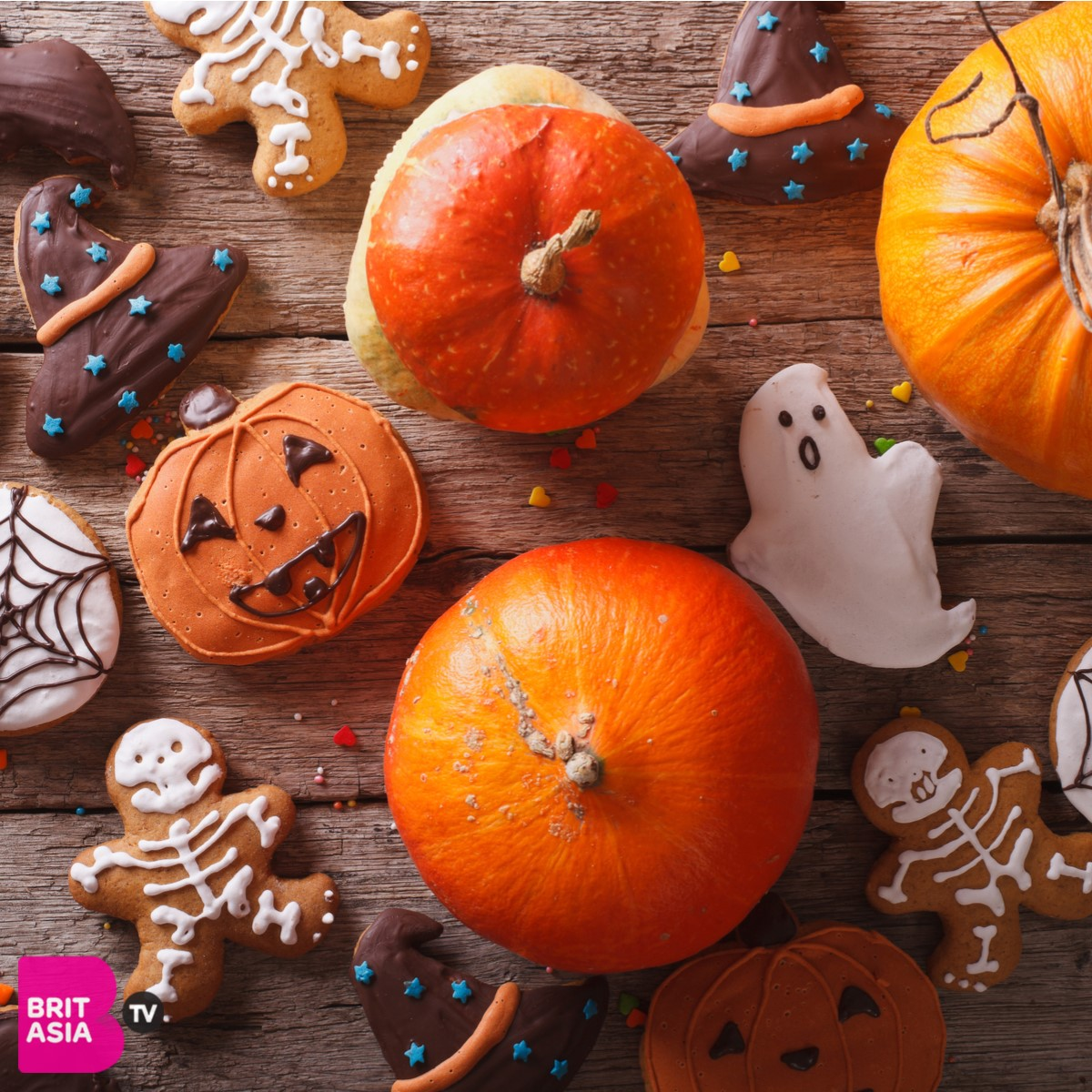 Aankita pumpkin spice halloween make up look