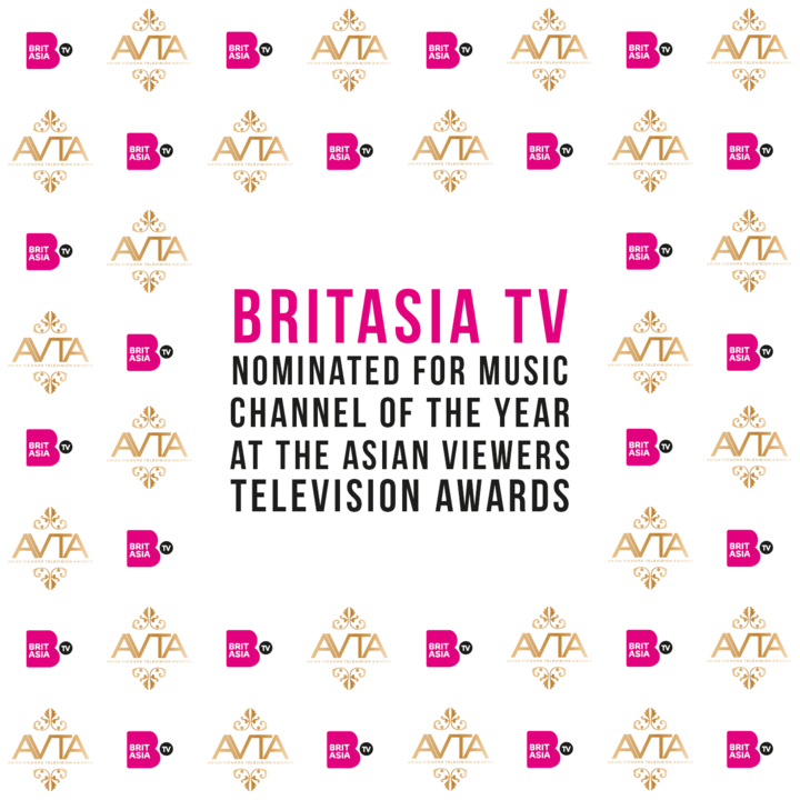 BRITASIA TV NOMINATED FOR MUSIC CHANNEL OF THE YEAR AT THE ASIAN VIEWERS TELEVISION AWARDS