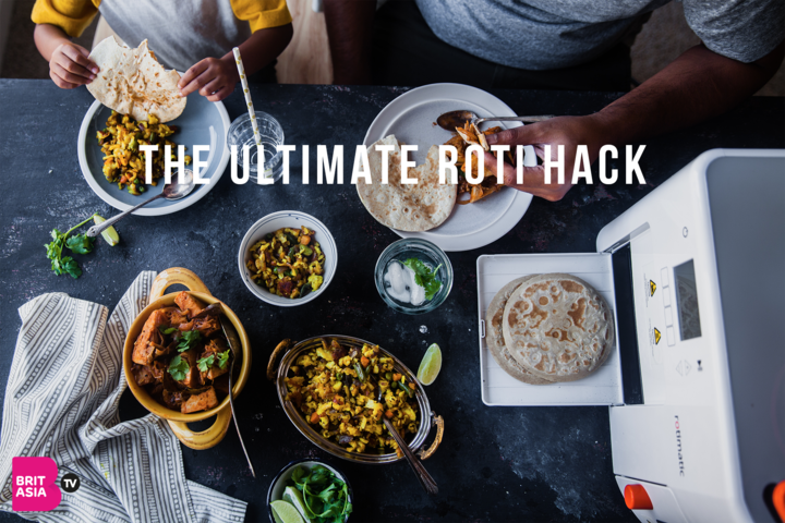 Rotimatic to make cooking roti easier