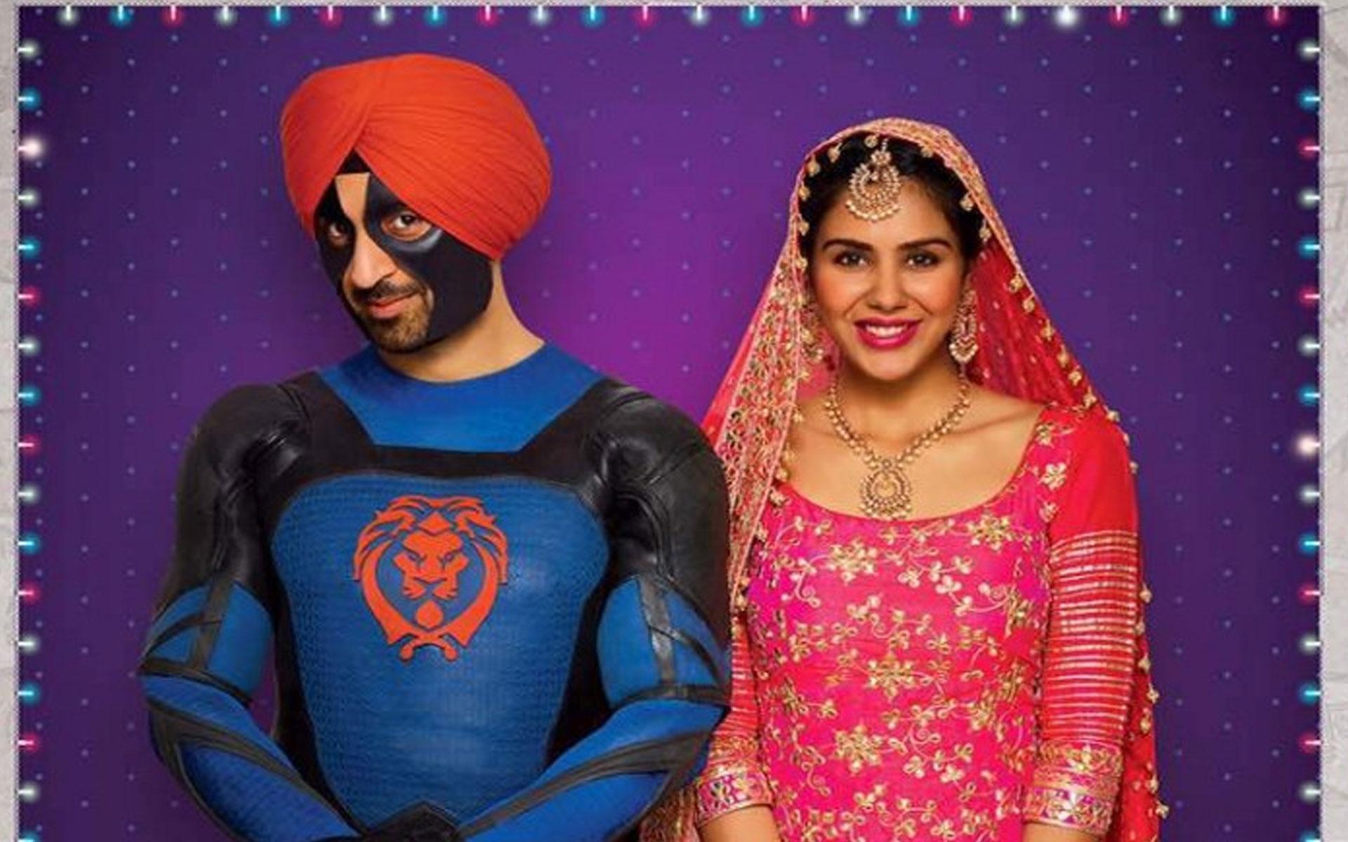 Diljit Dosanjh starring in Super Singh with Sonam Bajwa