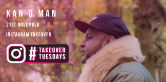 #TAKEOVERTUESDAYS WITH KAN D MAN