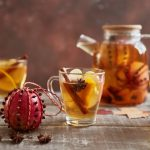 Mulled Apple Juice with Pink Lady® Pomander