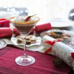 Red Hot Santa Tini Cocktail