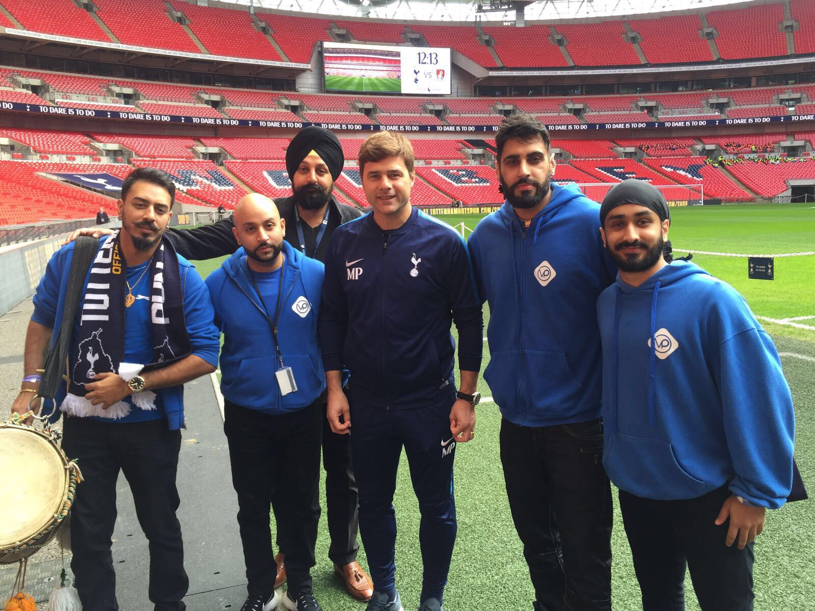 Diwali celebrations with tottenham hotspur