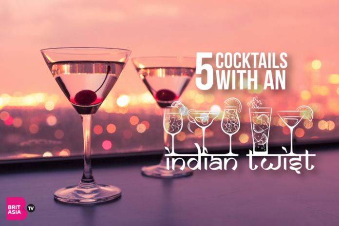 5 COCKTAILS WITH AN INDIAN TWIST