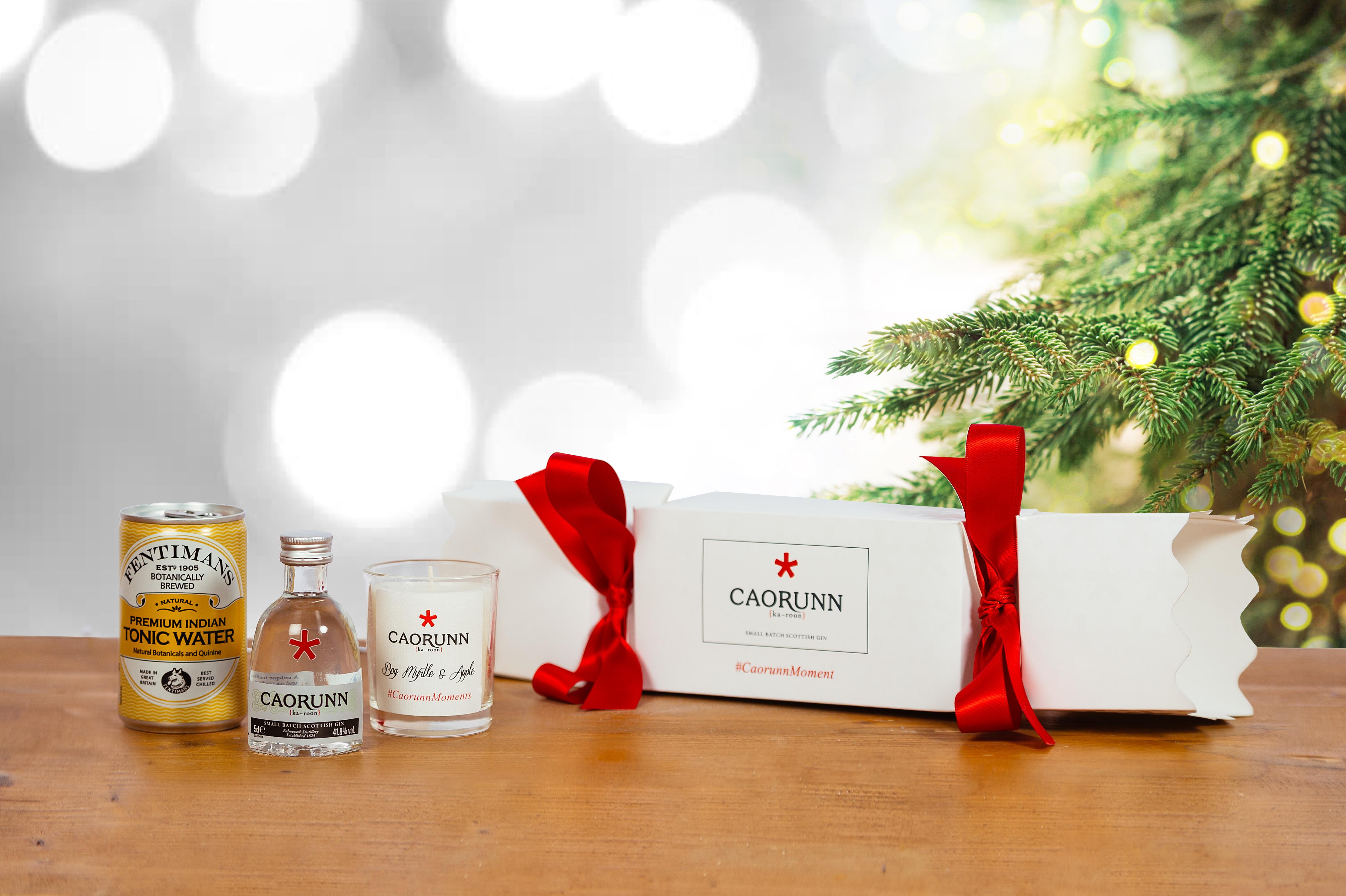 Caorunn Gin Christmas Cracker