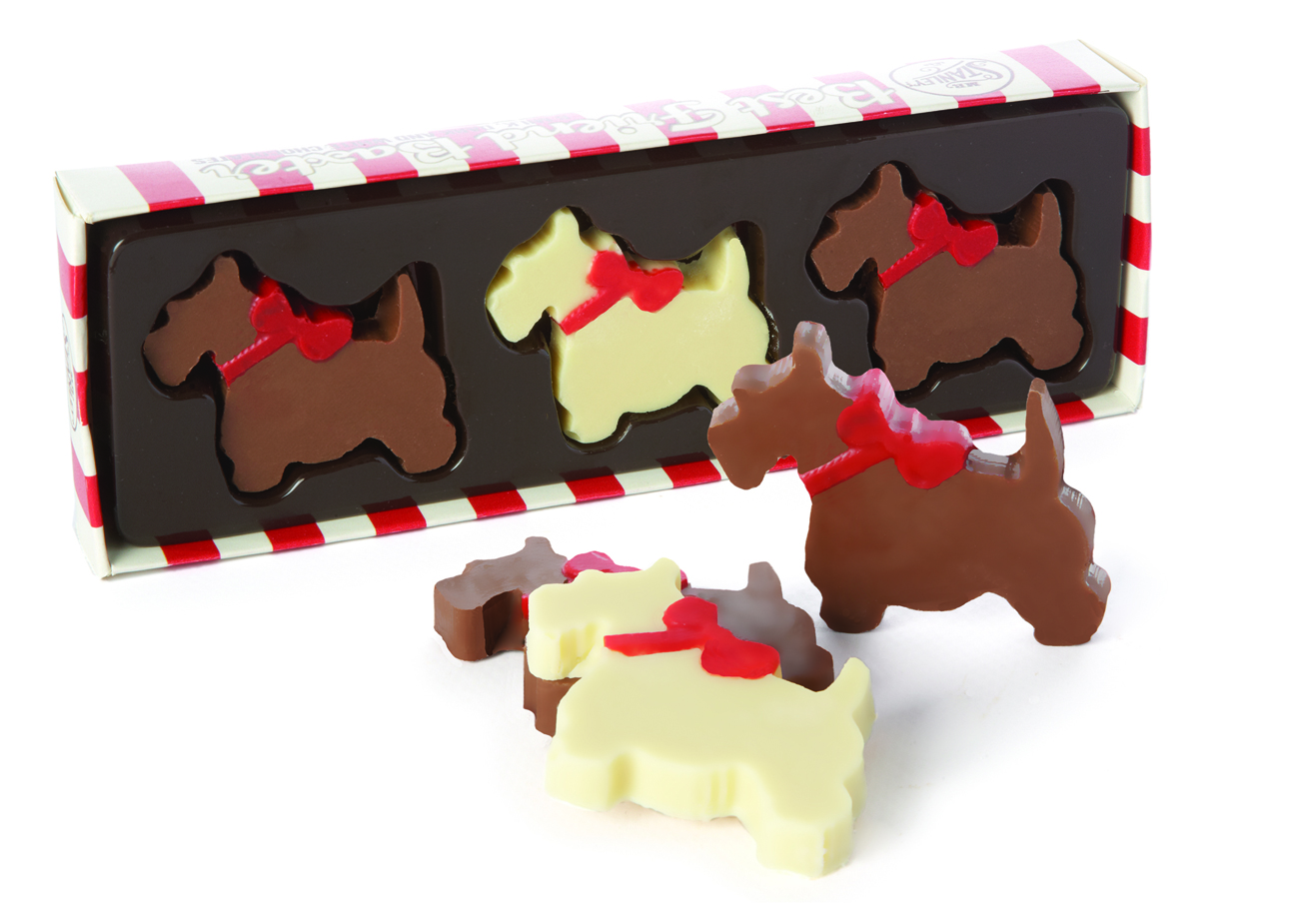 Mr Stanley's Chocolate Scotty Dogs