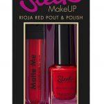 Sleek Make Up - Red Nail Varnish and lipstick