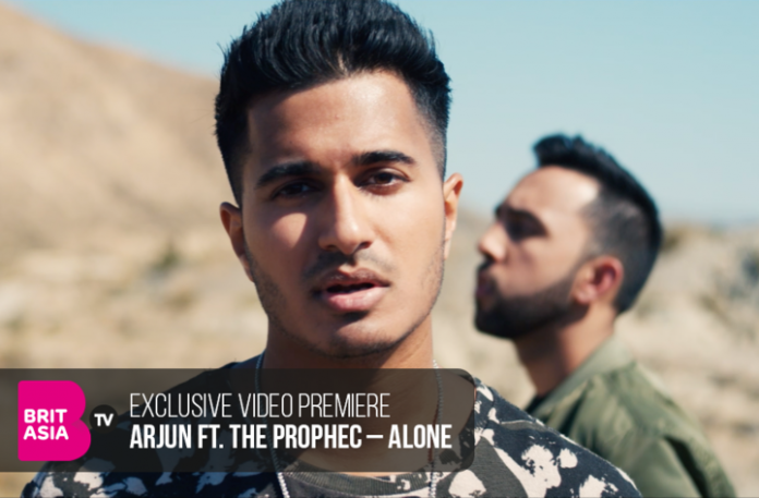 EXCLUSIVE VIDEO PREMIERE: ARJUN FT. THE PROPHEC – ALONE