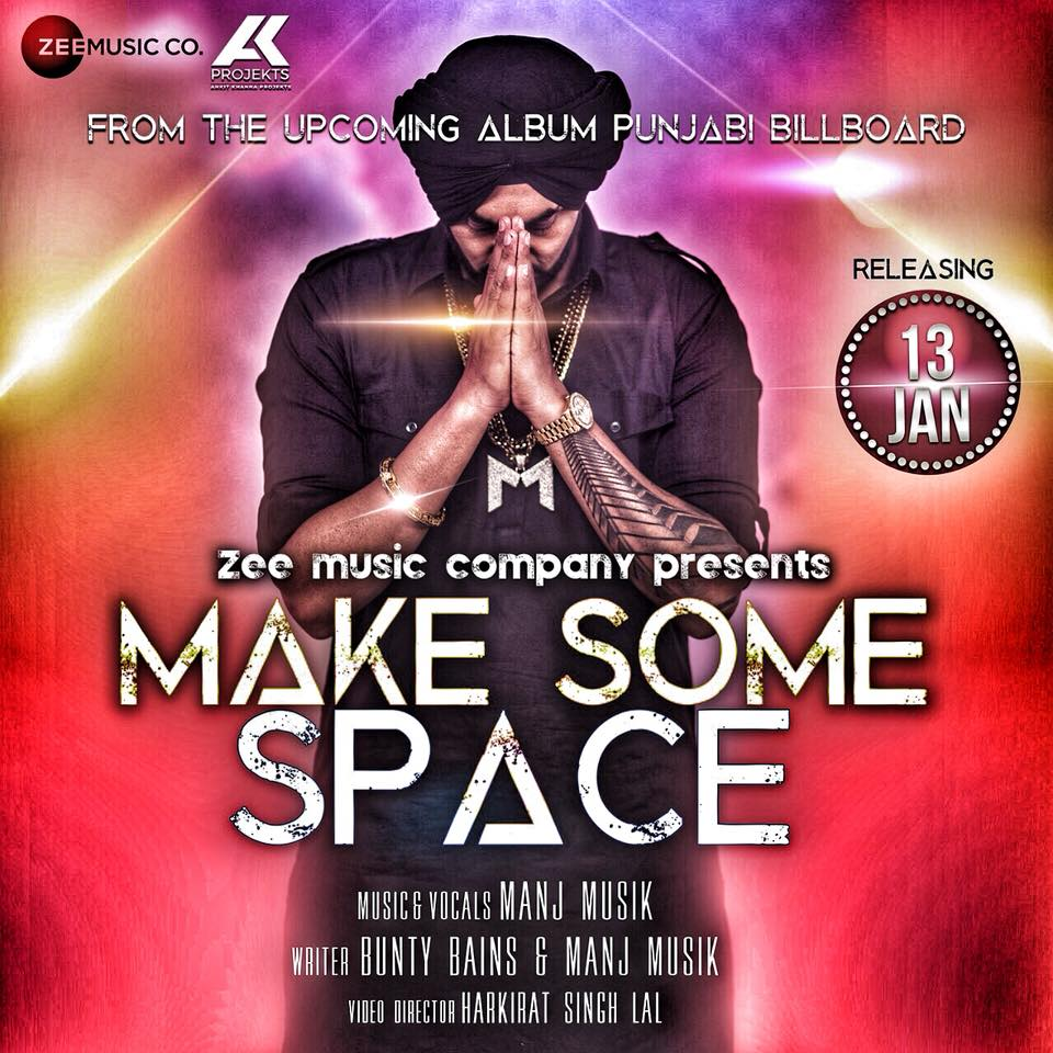 NEW RELEASE: MANJ MUSIK – MAKE SOME SPACE