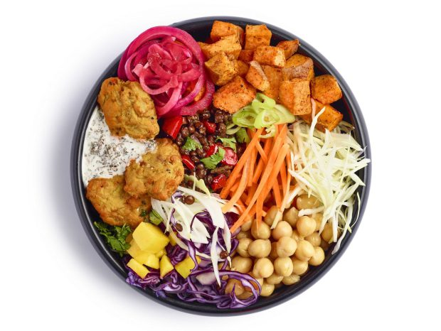 Rainbow curry bowl (gluten-free), 245g, £3.50