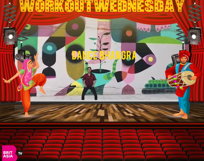 #WORKOUTWEDNESDAY WITH DANCE BHANGRA