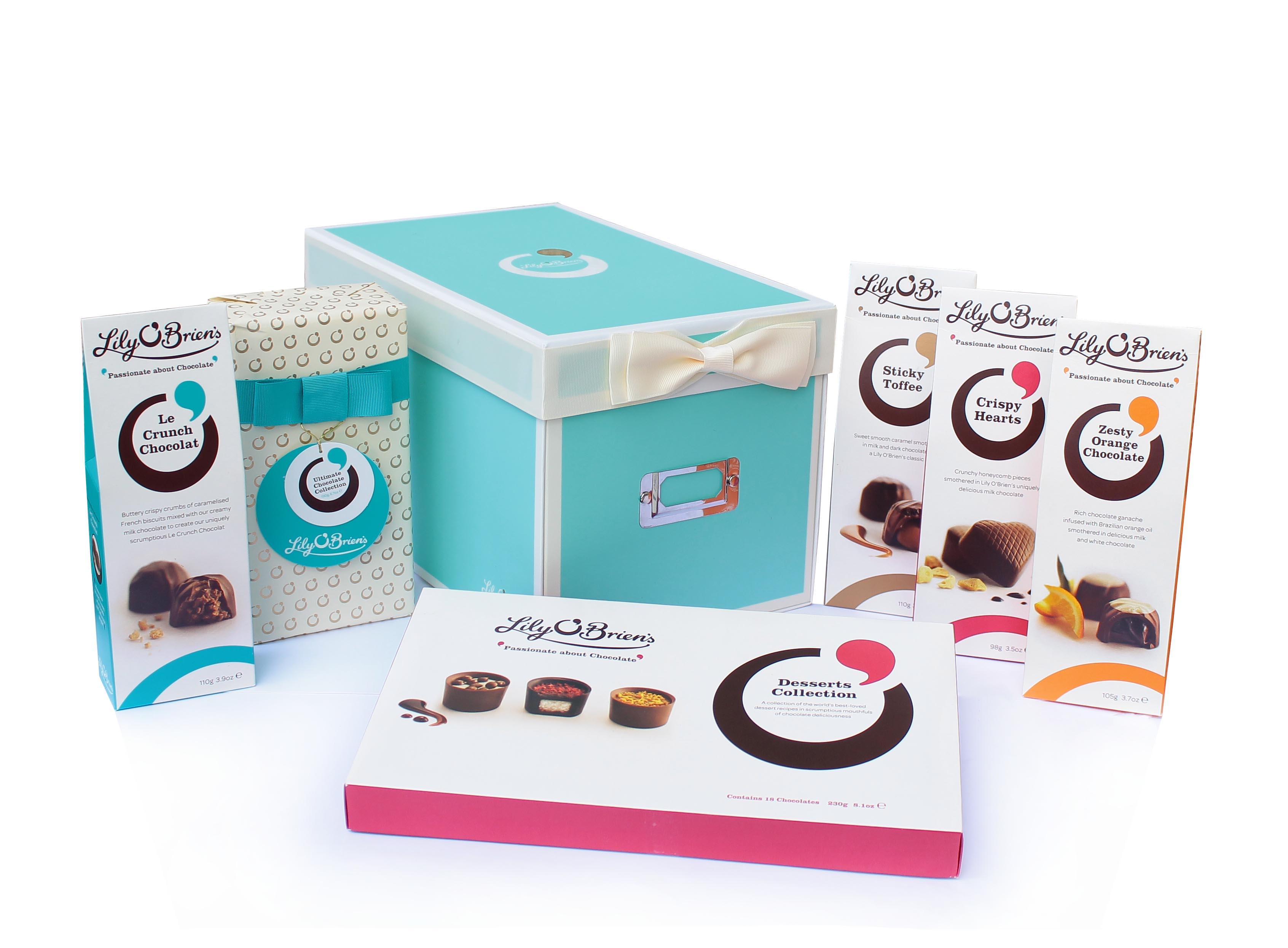Lily O'Brien Keepsake Shoe Box - gifts