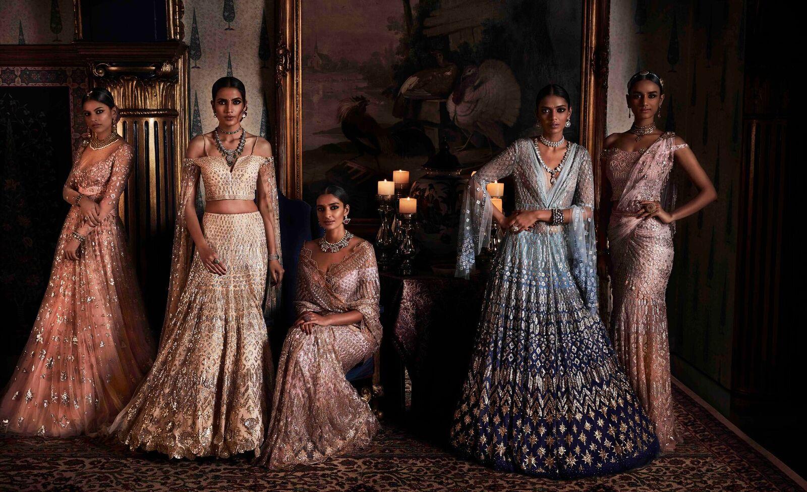 Tarun Tahiliani Wedding Outfits