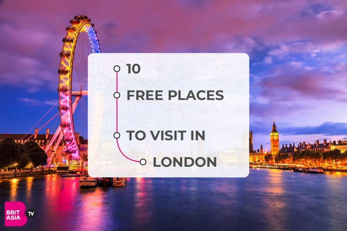 10 FREE PLACES TO VISIT IN LONDON