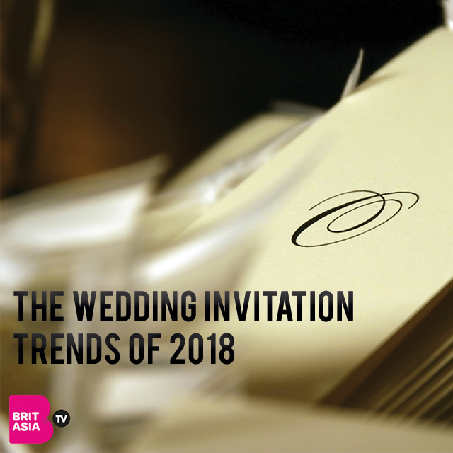 THE WEDDING INVITATION TRENDS OF 2018