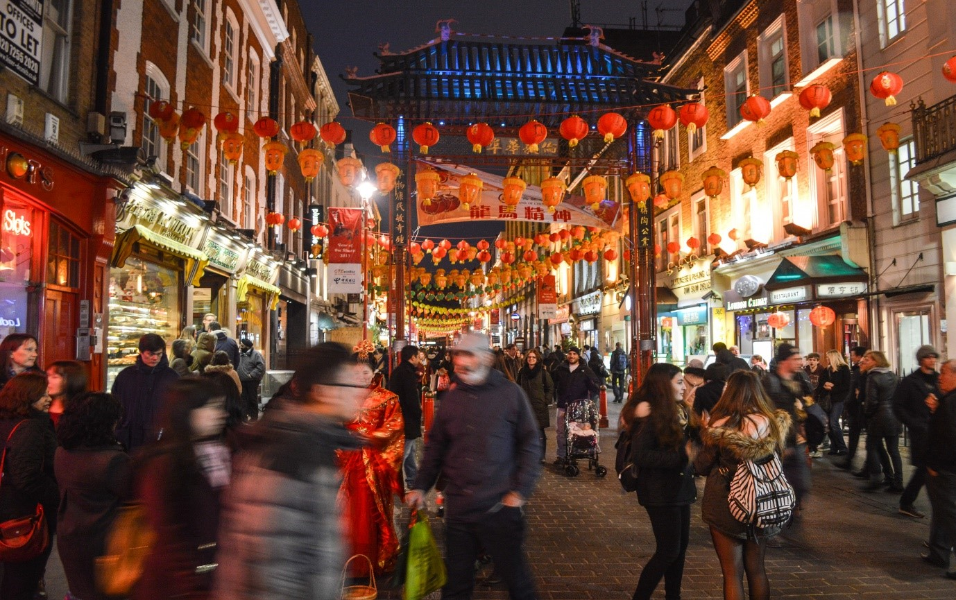 Chinese restaurants in London