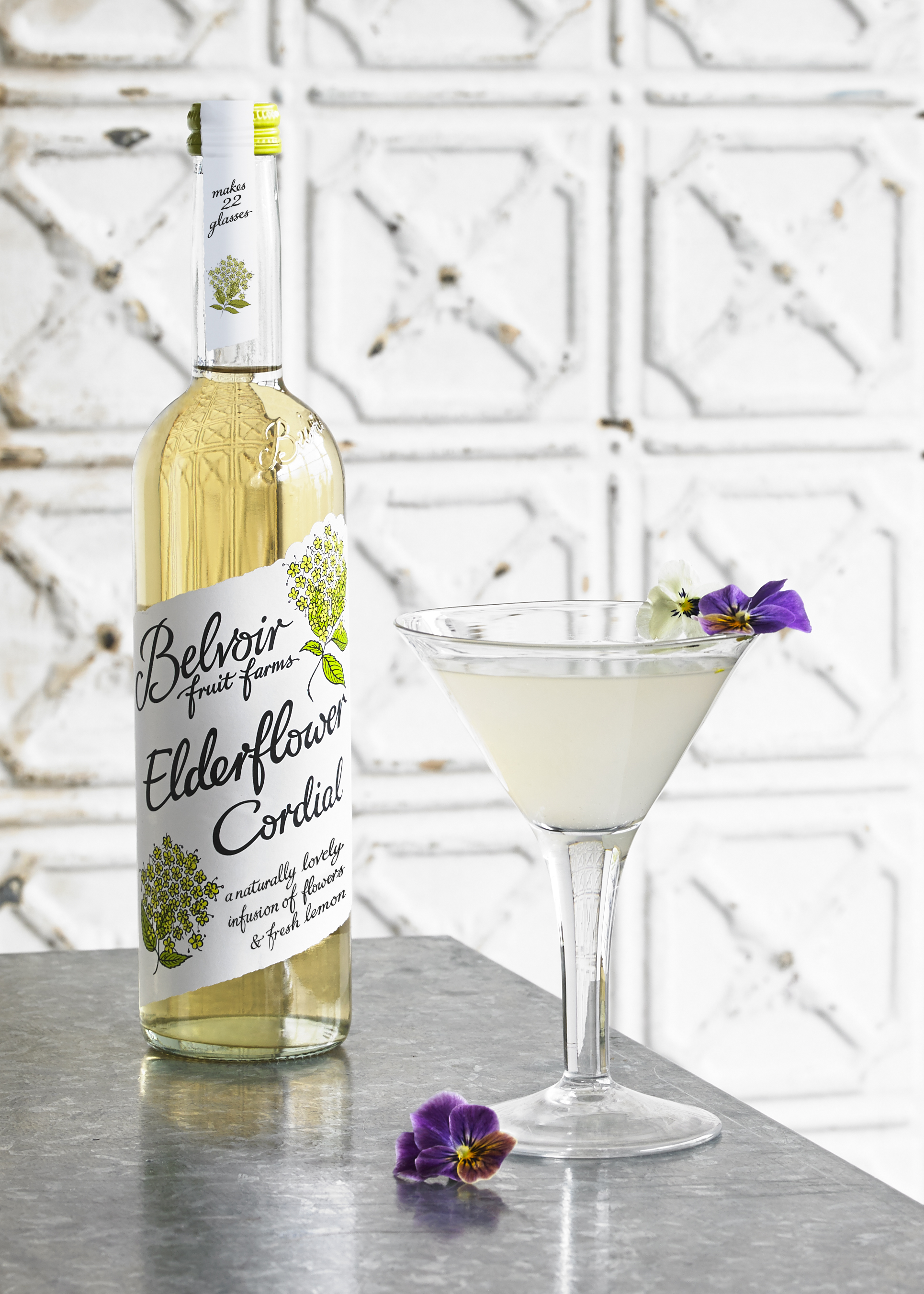 White Flower Martini