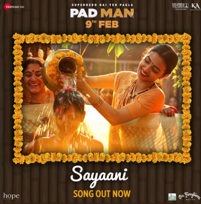 NEW RELEASE: SAYAANI FROM THE UPCOMING MOVIE PADMAN