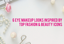 6 EYE MAKEUP LOOKS INSPIRED BY TOP FASHION AND BEAUTY ICONS