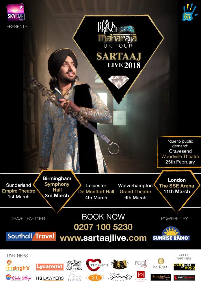 Black Prince: The Maharaja Tour