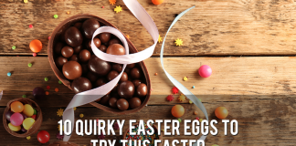 10 QUIRKY EASTER EGGS TO TRY THIS EASTER