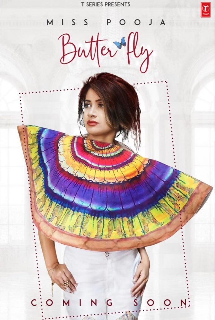 MISS POOJA SET TO RELEASE NEW TRACK TITLED 'BUTTERFLY'