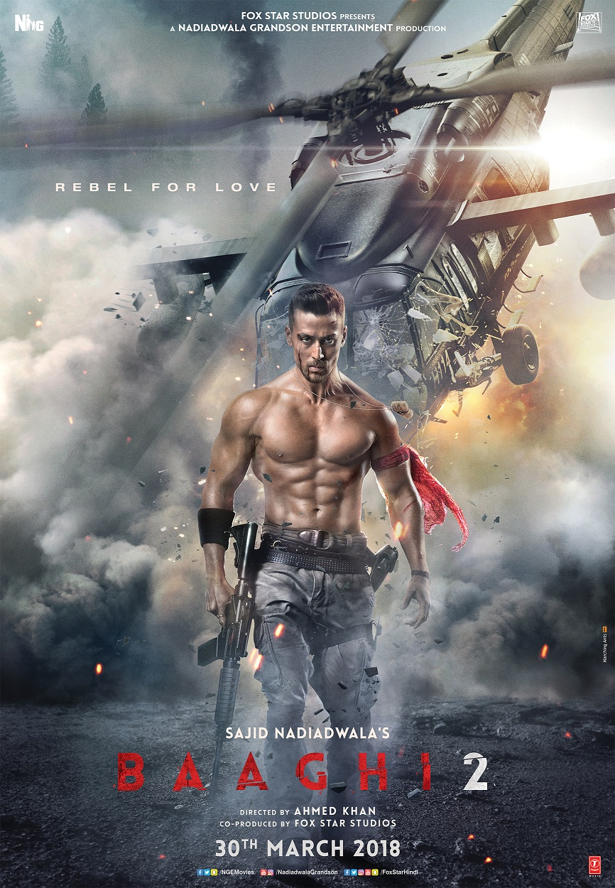 NEW RELEASE: MUNDIYAN FROM THE UPCOMING BOLLYWOOD MOVIE BAAGHI 2