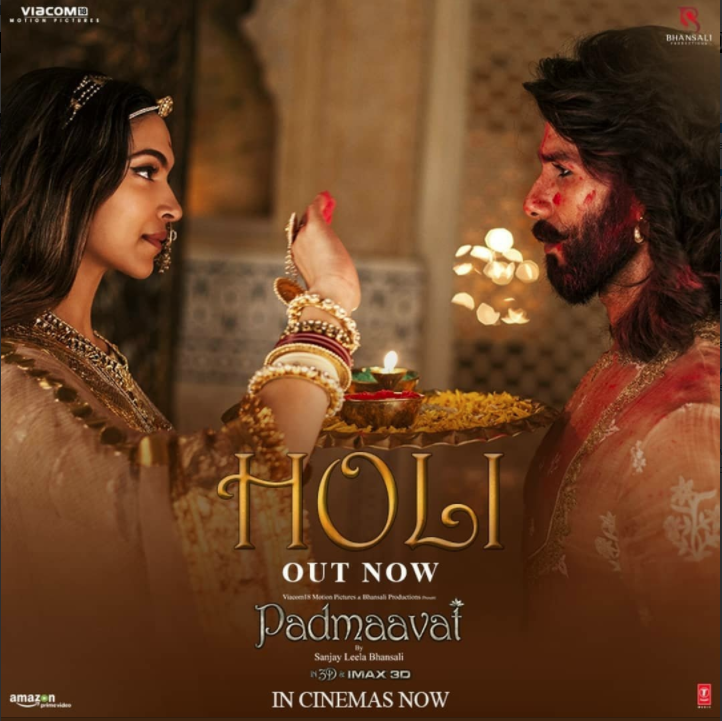 NEW RELEASE: HOLI FROM THE BOLLYWOOD MOVIE PADMAAVAT