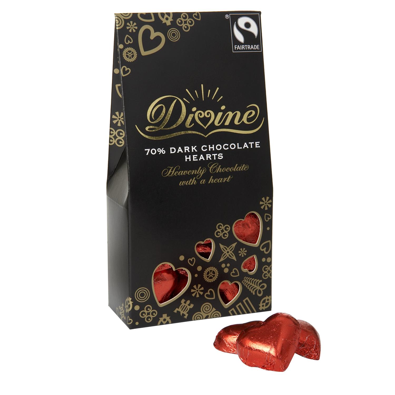 Divine Chocolate Hearts