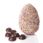 Milk Chocolate Pixel Egg and Soft Salted Caramels