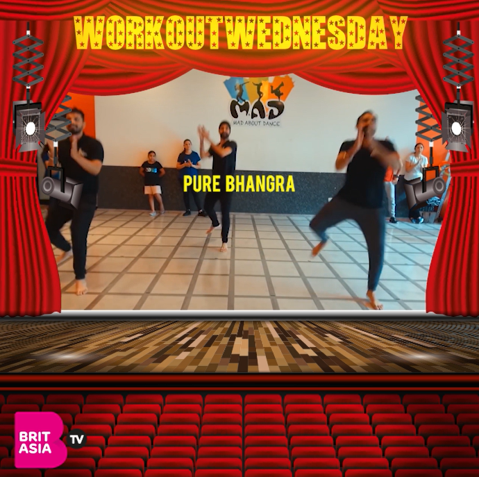 #WORKOUTWEDNESDAY WITH PURE BHANGRA