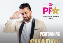SHARRY MANN JOINS THE PERFORMANCE LINEUP AT BRTIASIA TV'S PUNJABI FILM AWARDS 2018