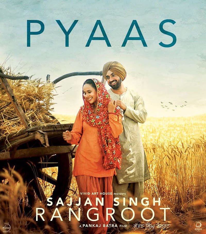 NEW RELEASE: PYAAS FROM THE UPCOMING MOVIE RANGROOT